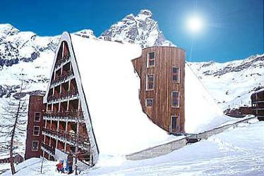 Turistico montagna: inverno 2012 in Valle d'Aosta