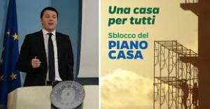 Piano casa 2014 del Governo Renzi