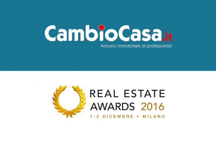 Cambiocasa.it sarà presente al Real Estate Awards 2016